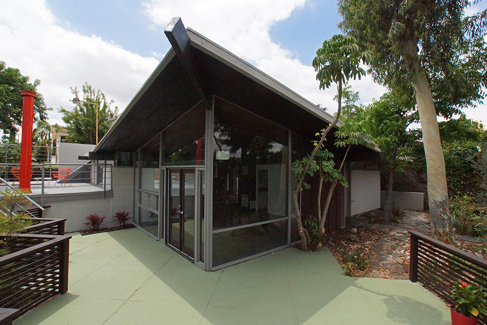 mid century modern home for sale