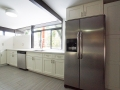 mid century modern renovated kitchen